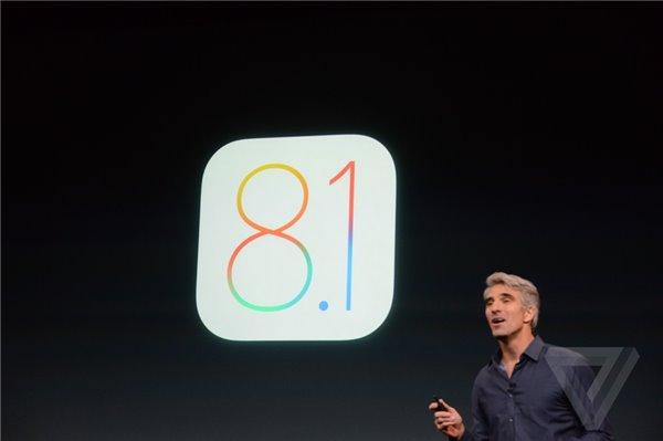 苹果iOS8.1更新在旧金山正式发布