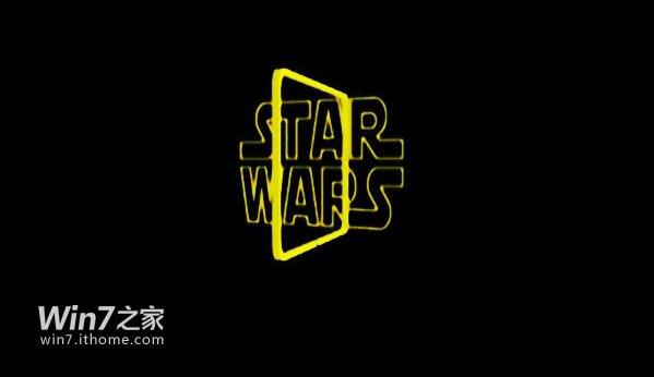 win7开机动画下载:星球大战