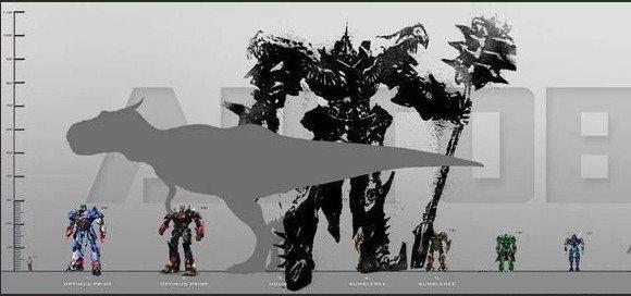 擎天柱骑士型态手绘