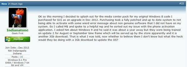 Win8.2的节奏 Win8.1 Update2体积达3G的照片 - 2