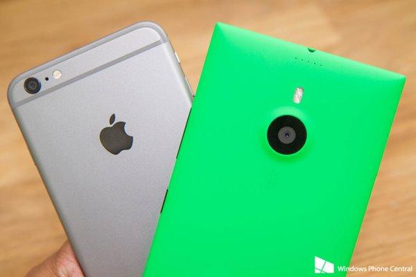 Lumia1520VS.iPhone6Plus对比尺寸回事关机手机外观老是开机上手是怎么小米啊图片