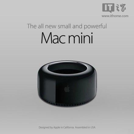 苹果新版mac mini概念图:烟灰缸! - mac mini,mac pro