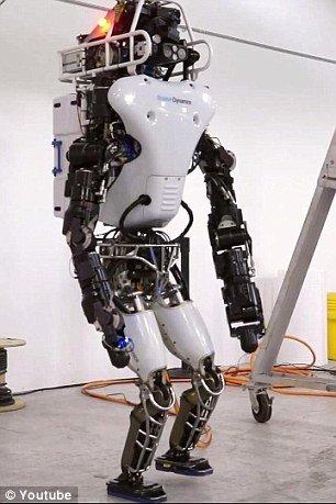 谷歌机器人杀出:液压关节碉堡!图片