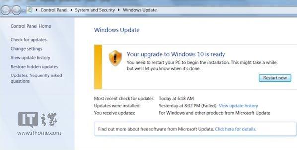 Win7/Win8.1用户反馈:Windows更新强制升级Win10 - Jackier - Jackiers IT BLOG