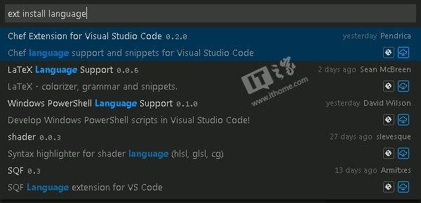 微软开源Visual Studio Code,Beta版新增扩展支持