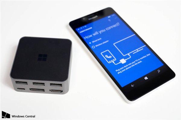近距离看Win10旗舰手机Lumia950与微软手机盒子演示