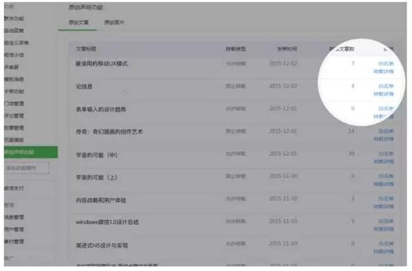 腾讯:微信公众号原创文章新增授权转载功能