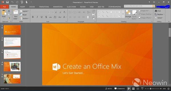 Office2016消费者预览版开放下载地址
