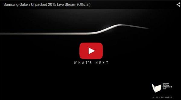 三星S6发布会直播视频上线高清图片