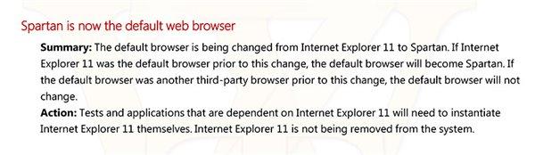 Win10预览版10056发布日志泄露:斯巴达成默认浏览器