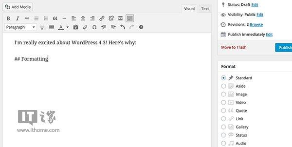 WordPress 4.3��ʽ����������������д���� - Jackier - Jackiers IT BLOG