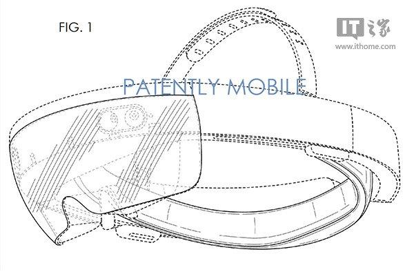 微软已获得Win10增强现实设备HoloLens设计专利