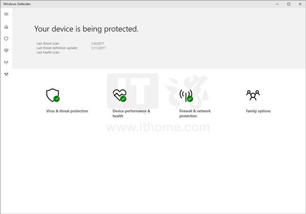 Win10杀软Windows Defender启用UWP新界面:查杀升级