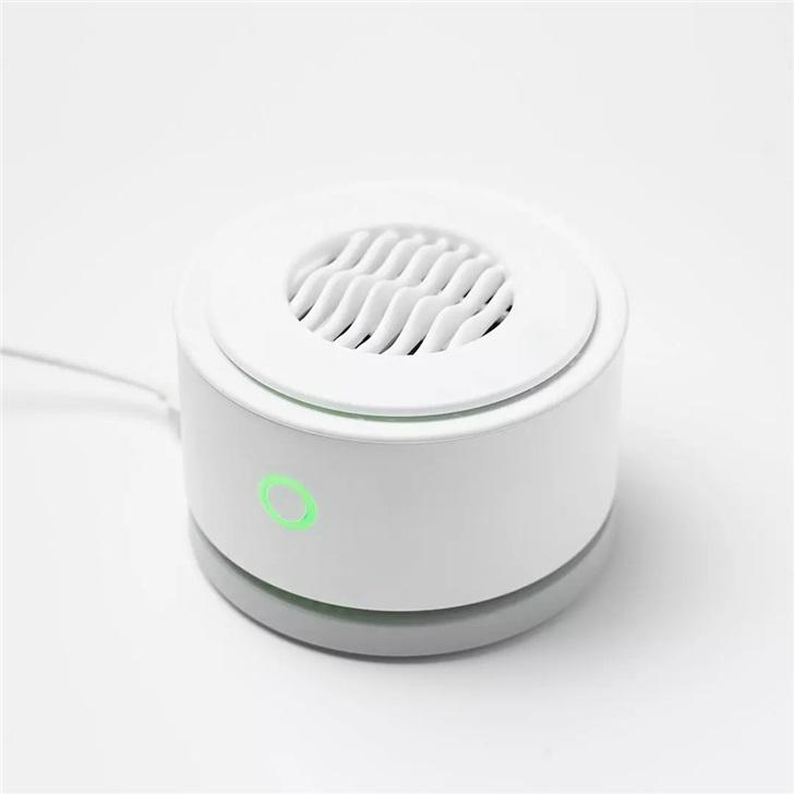 具有无线充电功能的便携果蔬净化器,还支持IPX7防水