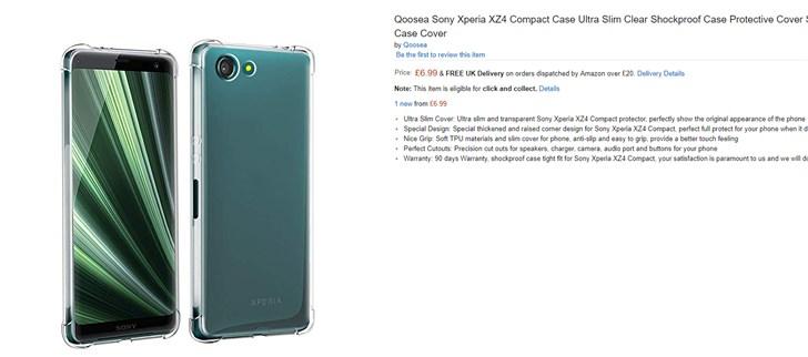 索尼Xperia XZ4 C小屏旗舰还有转机:保护壳现已上架亚马逊