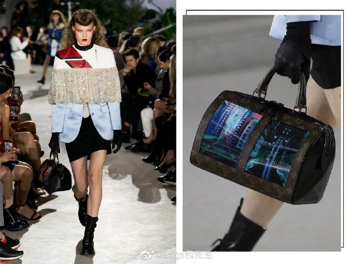 LV携手柔宇推出全球首款柔性屏手袋