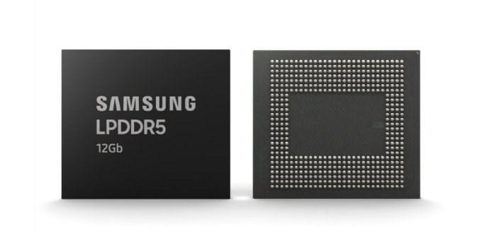 三星计划本月末开始批量生产12GB LPDDR5封装