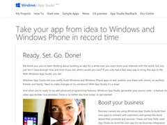 WP8.1立功?Windows App Studio用户超110万