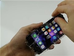 Cruel machine little elder brother comes again: Malic IPhone is lapped by crystallization glass