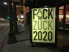 街頭藝術家因發布侮辱紮克伯格海報被Facebook封號