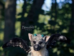 国外手工达人打造《最后的守护者》大鹫玩偶:毛茸茸超可爱