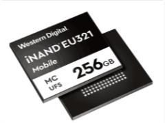 西數發布96層3D NAND UFS 2.1存儲