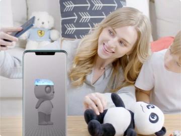 華為Mate 20 Pro/保時捷設計 3D模術師App正式上線:玩偶活了