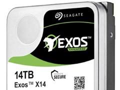 希捷发布Exos X企业级机械硬盘:容量最高14TB,今夏上市