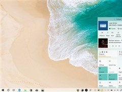 图赏:设计师打造理想中的Win10操作中心界面