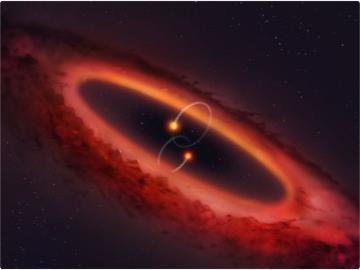 """天文学家发现拥有四个""""太阳""""的奇异星系"""