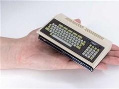 巴掌大小!日本首臺PC機PC-8001復刻迷你機發售,內置16款遠古游戲