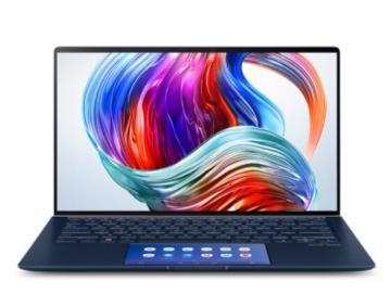 華碩靈耀Deluxe14s上架蘇寧:雙屏+i7,售價7999元