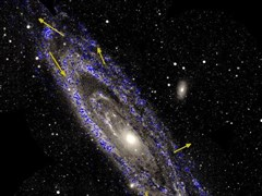 研究:未来45亿年银河系将与仙女座星系发生碰撞
