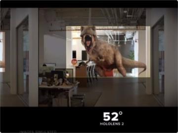 HoloLens 2視野仍不夠大?微軟定音:沒有秘密,就是52度