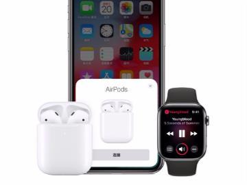 外媒上手苹果AirPods 2?#27627;?#25509;速度和音质双改进,不能和1代混用