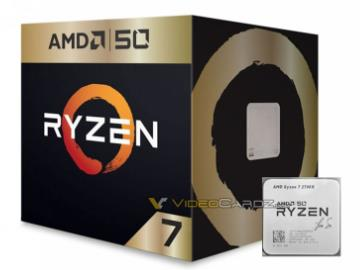 AMD R7 2700X 50周年版本曝光:金色包装,苏姿丰签名