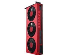 AMD Radeon VII 50周年纪念版上架:红色机身,送定制T恤和贴纸