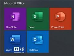 終于來了:微軟Office 365 Win10商店正式版啟用全新圖標