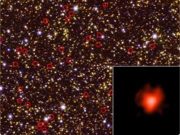 NASA斯皮策太空望远镜发现早期星系比预期要亮