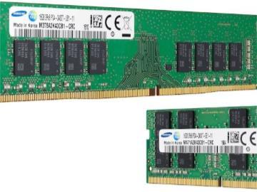 三星32Gb DDR4 A-die内存芯片出样,10nm工艺