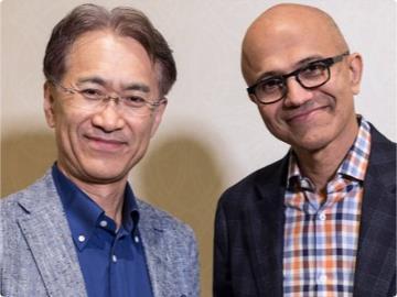 为了挤兑谷歌,微软和死对头索尼走到一起