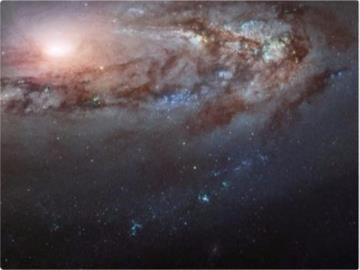 哈勃望远镜拍摄M90星系:越来越接近我们