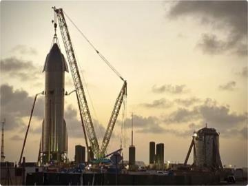 SpaceX星際飛船SN8原型機鼻錐安裝完成,接近最終形態