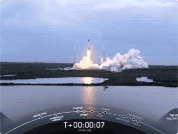 """SpaceX再發射60顆""""星鏈""""衛星,總數已達900顆"""