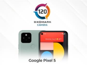谷歌 Pixel 5 DXOMARK 相机评分公布:120分