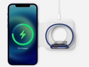 手机手表同时充电,苹果 MagSafe Duo 现已通过韩国认证,有望在近期发售