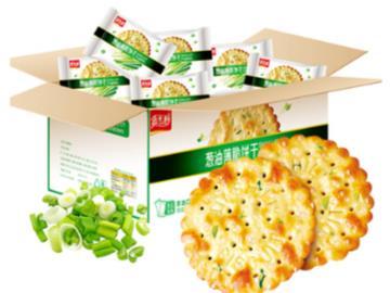 复购率超30%:嘉士利葱油饼1.66斤19.9元新低(京东32元)