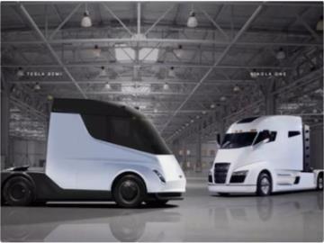 特斯拉Semi电动卡车尚未投产就收到一笔大订单