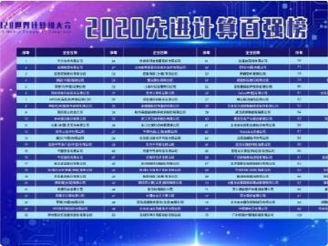"""中国""""2020 先进计算百强榜""""发布:华为、浪潮、联想、微软、英特尔排前五"""