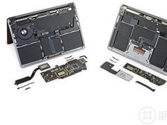 苹果 M1 芯片 MacBook Air 和 MacBook Pro 内部设计均与英特尔版本基本相同